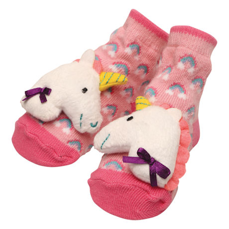 Baby Rattle Socks for Infants 0-12 Months