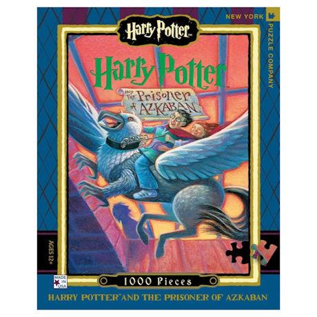 Harry Potter Prisoner of Azkaban Book Cover 1000 pc Puzzle