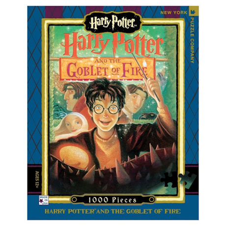 Harry Potter Goblet of Fire Book Cover 1000 pc Puzzle