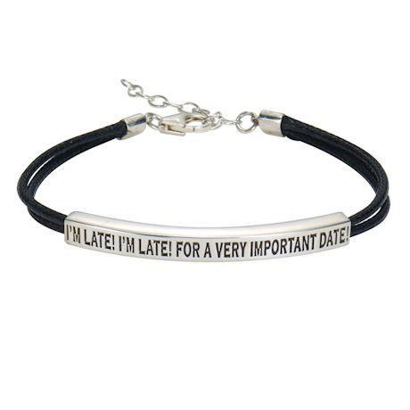 I'm Late! I'm Late! Bracelet