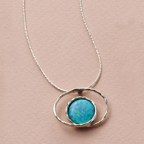 Opal in Orbit Necklace