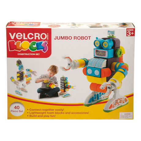 Jumbo Robot Velcro®Blocks