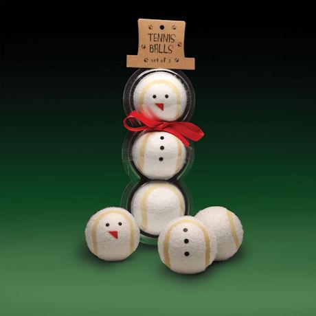 Snowman Tennis Balls