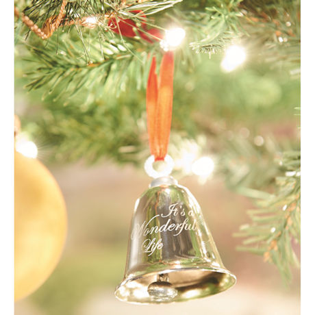 """It's a Wonderful Life"" Bevin Bell Christmas Ornament"