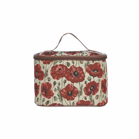 Poppy Tapestry Toiletry Bag