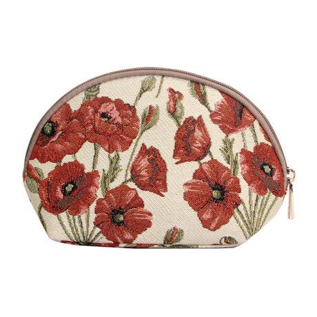 Poppy Tapestry Cosmetic Case