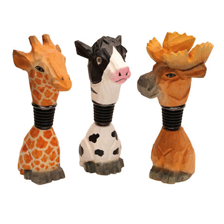 Animal Bottle Stoppers