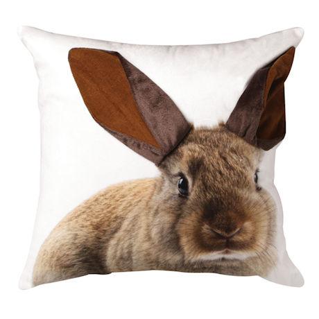 Brown Bunny Pillow