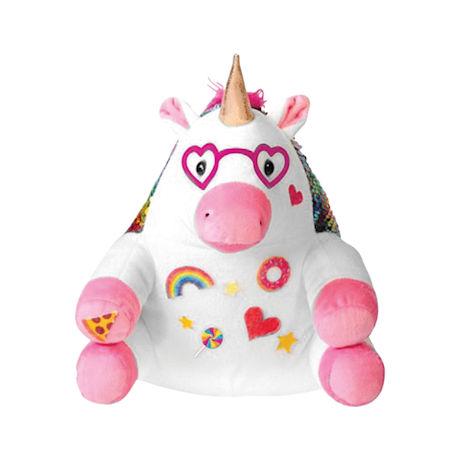 Sparkle Unicorn Flip Sequins Sensory Plush Toys
