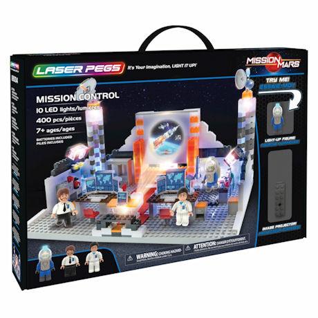 Mission Control Laser Pegs Building Set