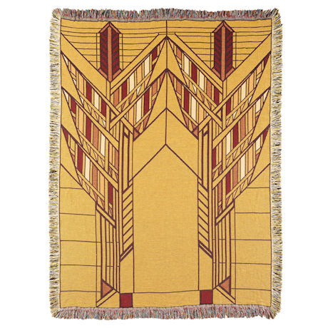 Frank Lloyd Wright® Dana House Sumac Throw
