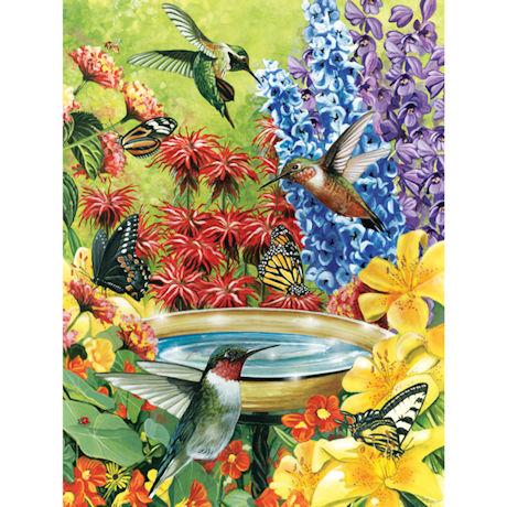 Hummingbird Garden 500 Piece Jigsaw Puzzle