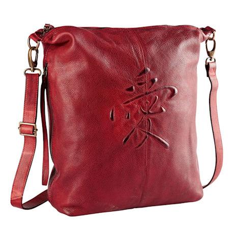 Love Symbol Leather Handbag