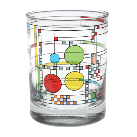 Frank Lloyd Wright® Coonley Playhouse Tumblers