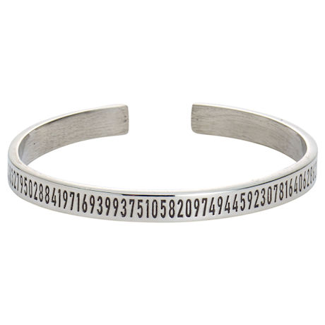Pi Cuff Bracelet