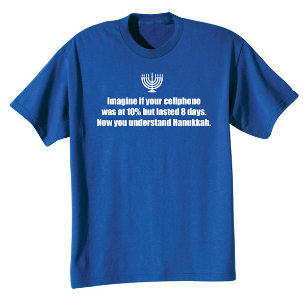 The Miracle of Hanukkah Shirts