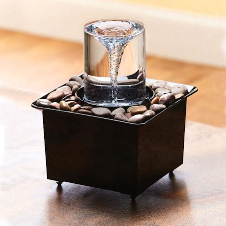 Tabletop Vortex Fountain