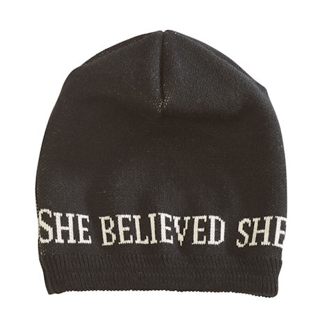 She Believed She Could So She Did Hat