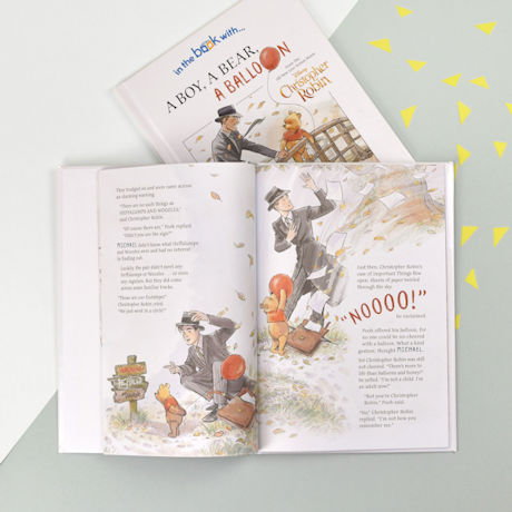 Personalized Christopher Robin: A Boy, A Bear, A Balloon Book