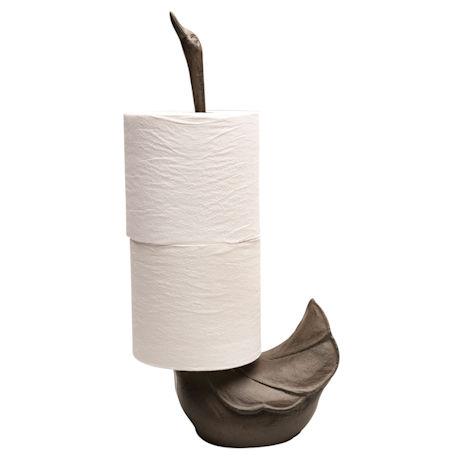 Black Swan Toilet Paper Holder