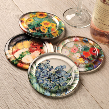 Floral Still Lifes Coasters