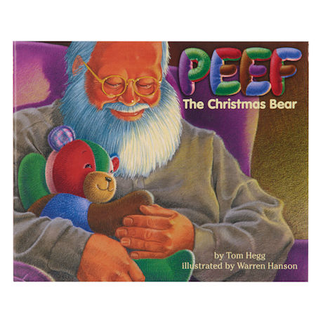 Peef the Christmas Bear Book