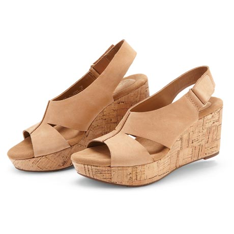 Clarks Caslynn Lizzie Wedge Sandal