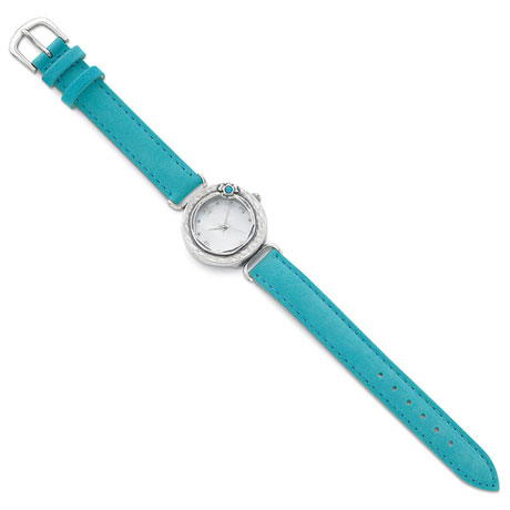 Sterling & Opal Watch