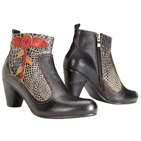 Irving Park Floral Boots