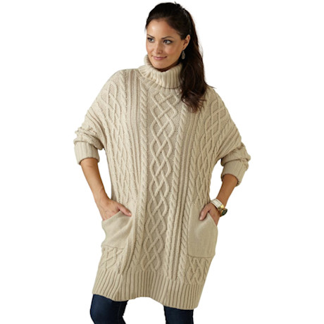Aran Pullover Sweater