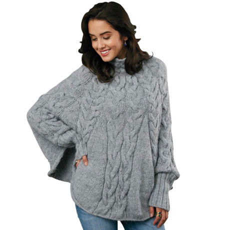 Erika Sweater Poncho