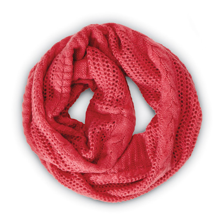 Then-and-Now Infinity Scarf