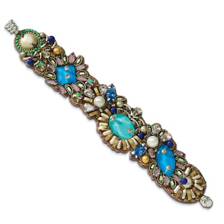 Pacifica Beaded Silk Bracelet