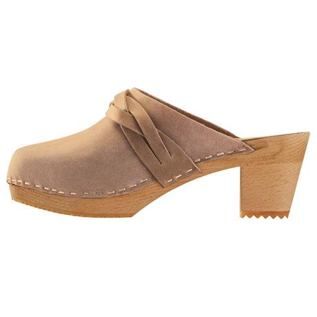 Betinna Braided Leather Clogs