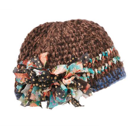 Clara Flouncy Knit Hat