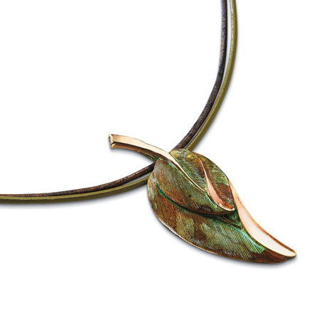 Verdure Leaves Necklace