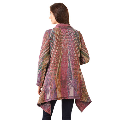 Monet Waterfall Womens Jacket