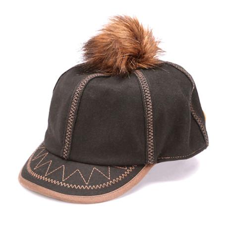 Pom-Pom Pouf Cap