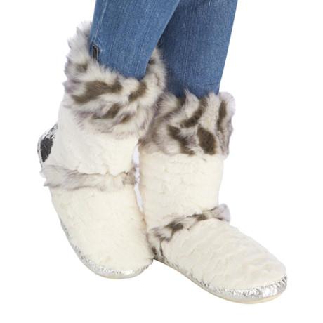 Faux Fur Lola Slipper Boot