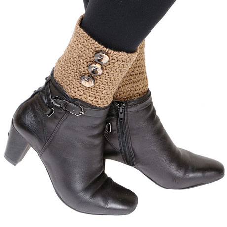 Eleanora Sweaterknit Boot Cuffs