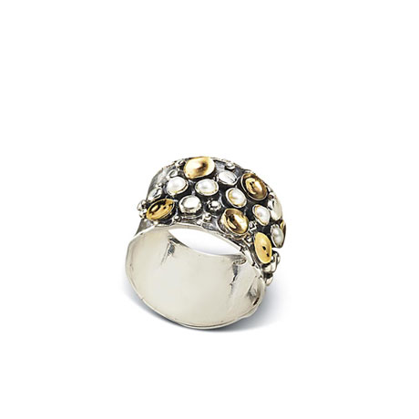 Dots & Pearls Orada Elemental Ring