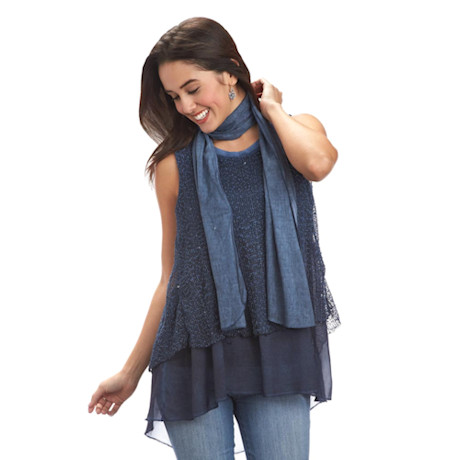 Sutton Place Layered Tunic Top
