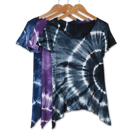 Tie Dye Sharkbite T Shirt