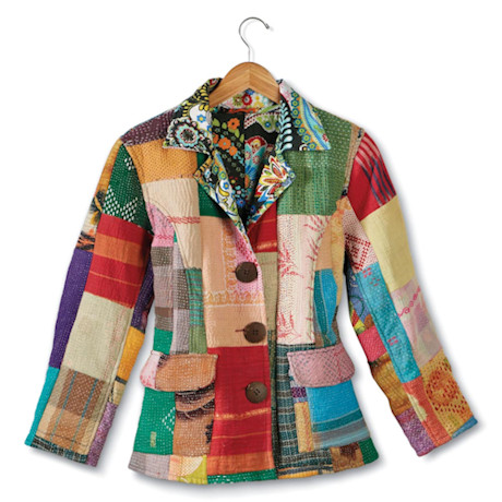 Reversible Kantha Jacket
