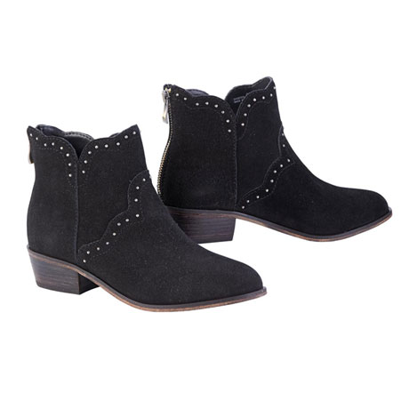 Lone Pine Suede Booties