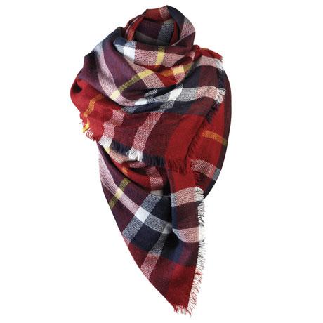 Tartan True Blanket Scarf