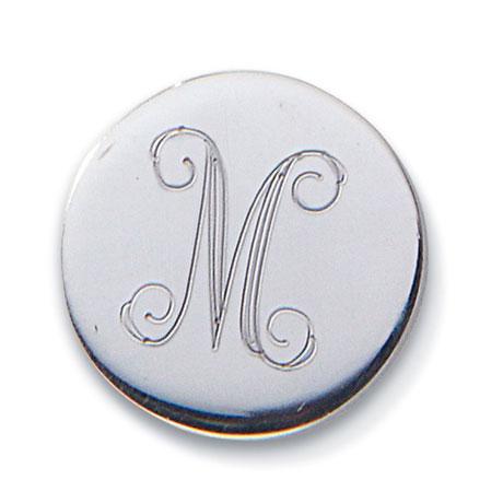 Personalized Circle Charm