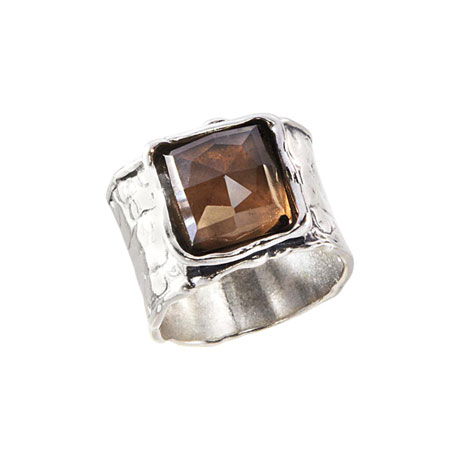 Vala Smoky Quartz Ring