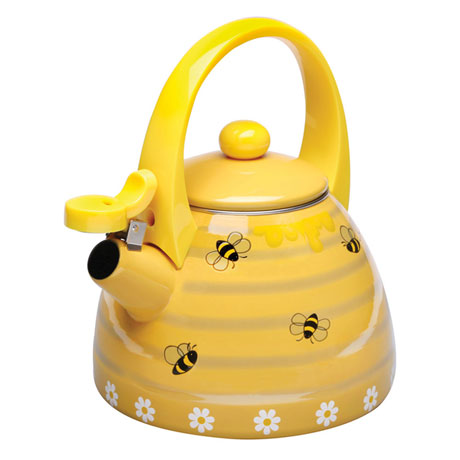 Honey Bees Whistling Tea Kettle