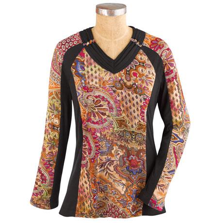 Bohemian Tapestry Top